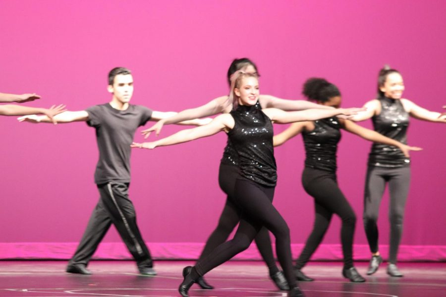 Dance students perform on Nov. 21